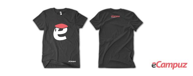 t-shirt ecampuz