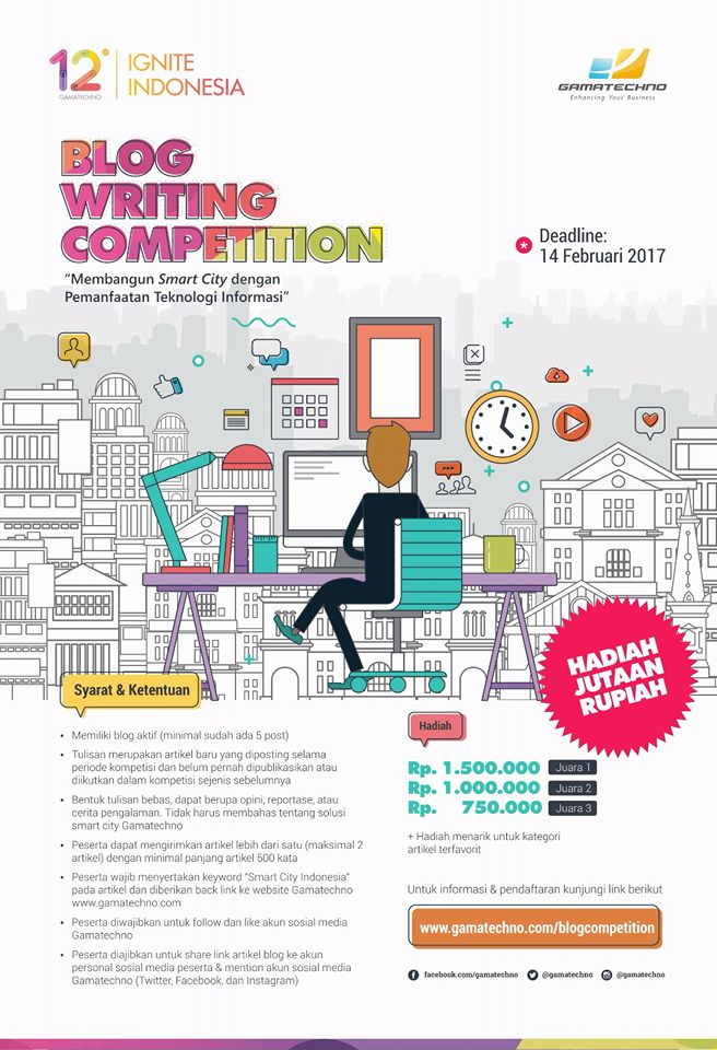 Blog Writing Competition:
