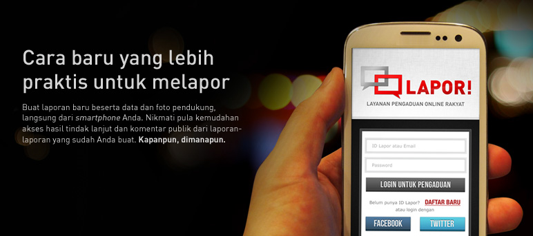 Contoh Aplikasi Smart City Lapor