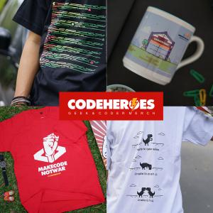 Code Heroes Merch