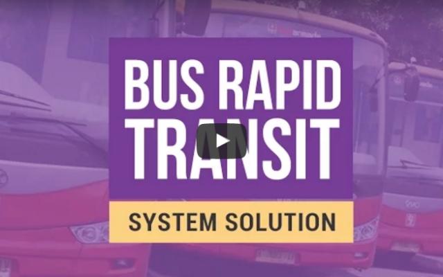 Ini Sistem Transportasi Publik Cerdas dengan BRT System Solution