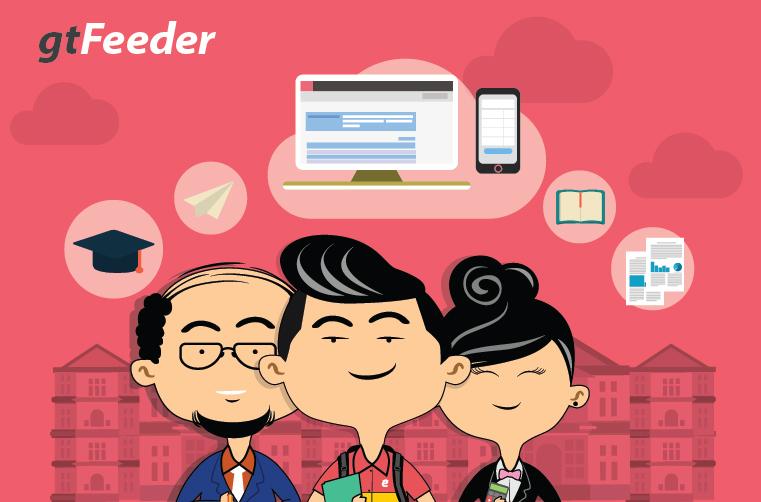 Aplikasi feeder Gamatechno