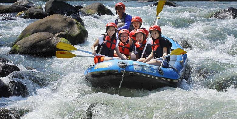 Rafting Sungai Ello
