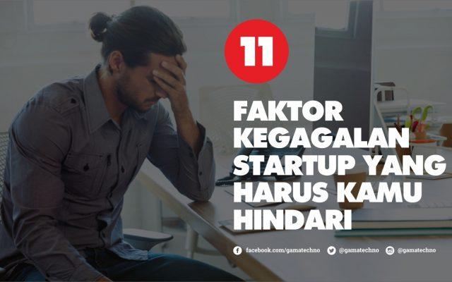 11 Faktor Kegagalan Startup yang Harus Kamu Hindari!