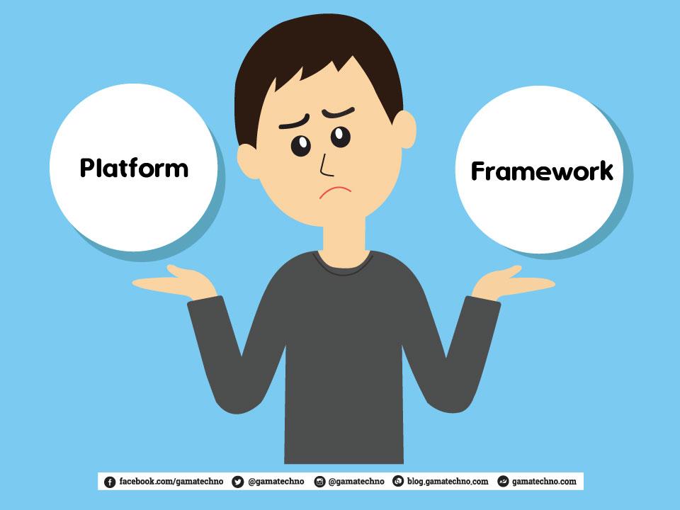 tips programmer pemula beda platform framework