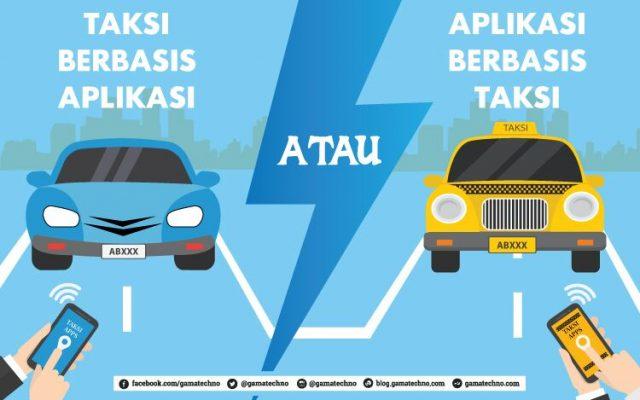 Mengulas: Taksi berbasis aplikasi atau aplikasi berbasis taksi?