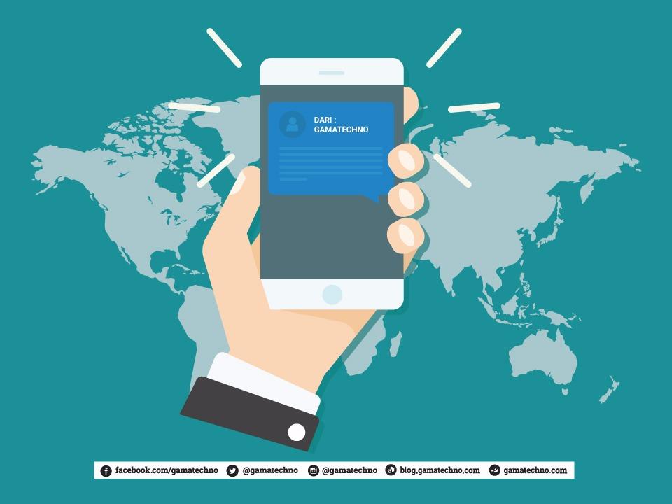 SMS Masking Dari Gamatechno Jogja Indonesia