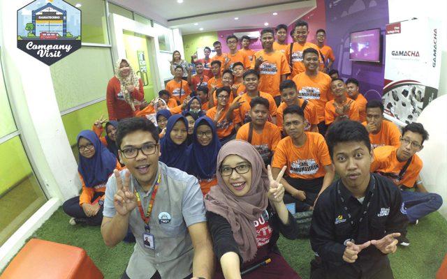 SMK Al-Muhajirin Depok Company Visit ke Gamatechno