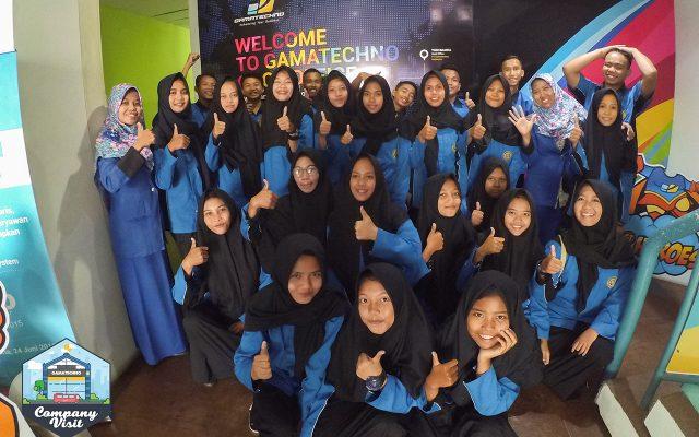 Gamatechno Sajikan Talkshow di Company Visit SMK Astrindo Tegal
