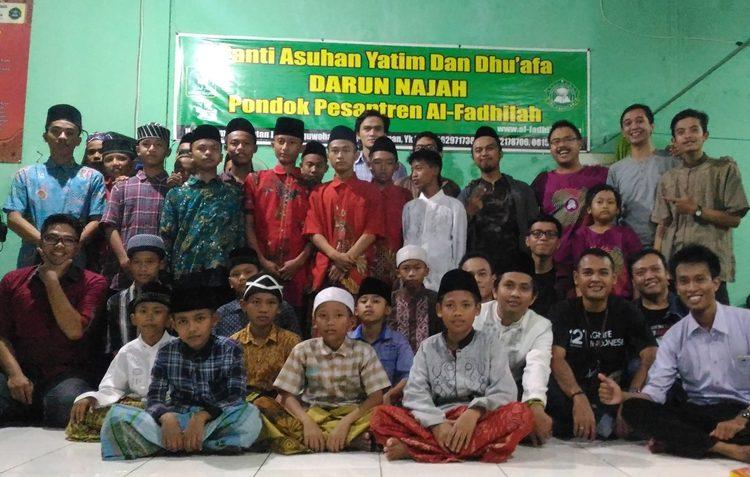 Berbagi Berkah Ramadan, gtFilantropi Gamatechno Adakan Buka Puasa Bersama di Panti Asuhan Darun Najah