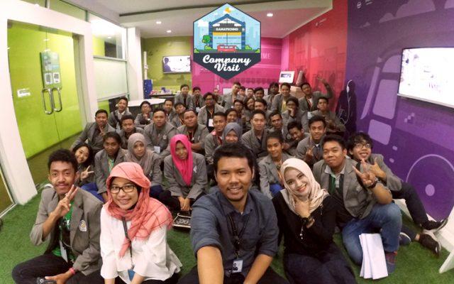 STIKI Malang Belajar Pemrograman di Company Visit Gamatechno