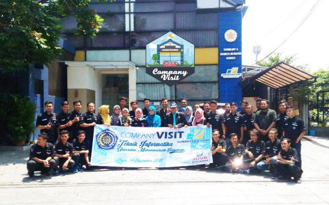 Universitas Muhammadiyah Ponorogo Kunjungi Cool Office Gamatechno