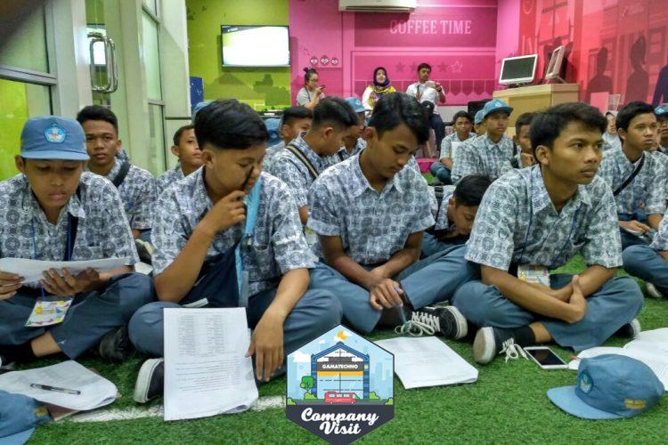SMK N 7 Baleendah Bandung Pelajari Tips Menjadi Programmer di Gamatechno