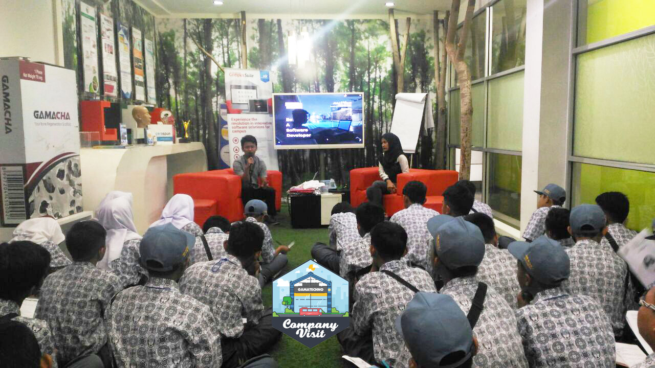 Sesi Company Visit SMK N 7 Baleendah Bandung