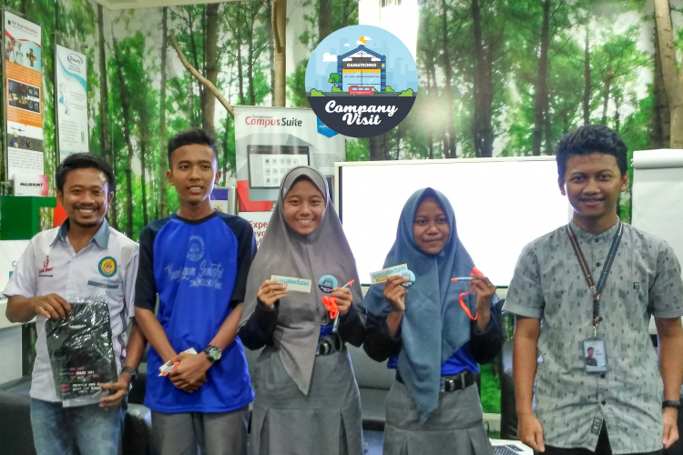 Gamatechno Terima Kunjungan SMK Gama Kedungadem Bojonegoro