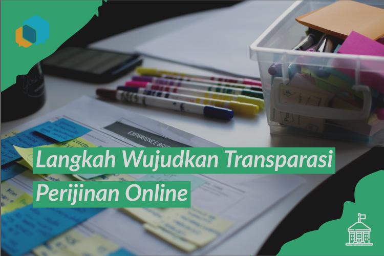 transparasi perijinan online, gtperijinan