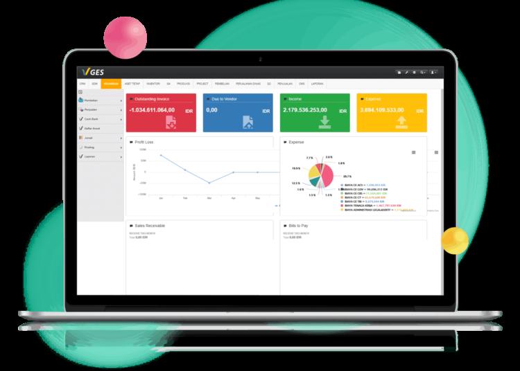 software finance untuk laporan keuangan
